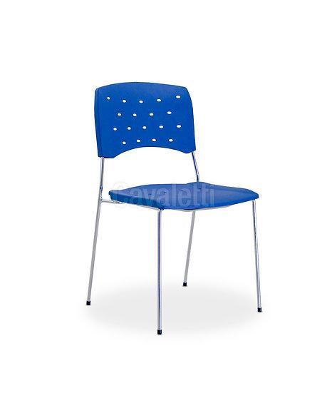 Cadeira para Escritório - Plástica - Fixa - 35518SPM - Cavaletti