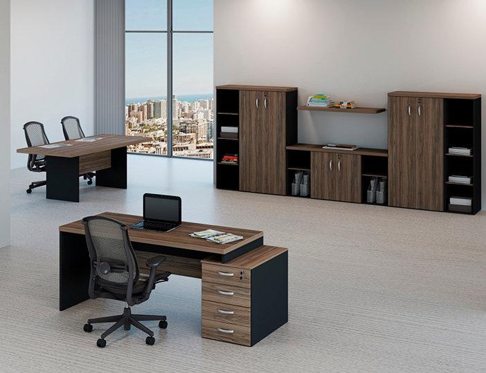 Mesa para Escritório Linha 40mm - Maranello Ambiente 09