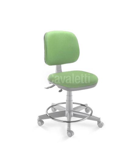 Cadeira para Dentista-  Executiva - Giratória - 4103 - Cavaletti