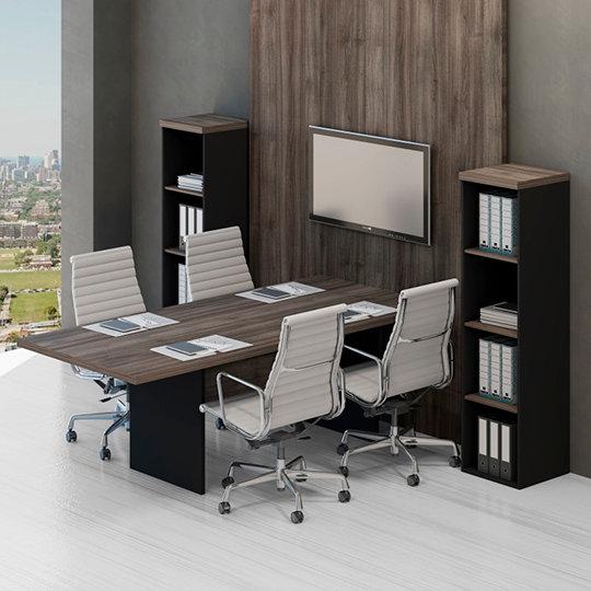 Mesa para Escritório - Reuniões - Linha 40mm - Maranello 03
