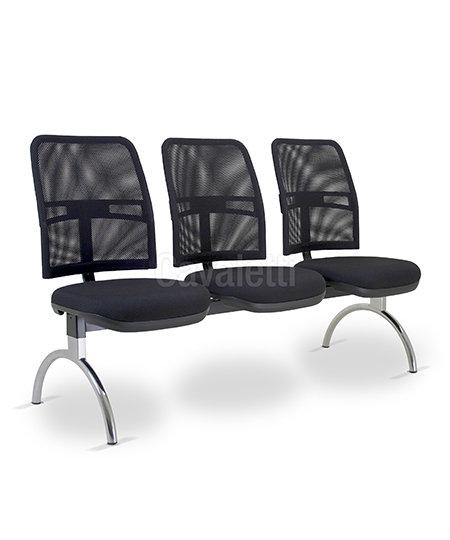 Cadeira para Escritório - Executiva - Longarina - 16010   - Cavaletti