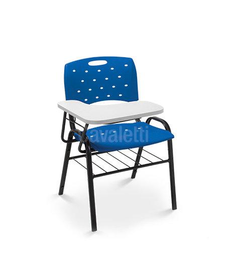 Cadeira para Escritório - Plástica - Fixa - 35008 PU - Cavaletti