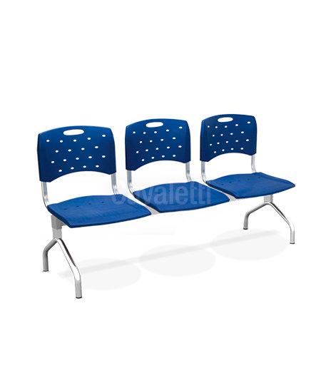 Cadeira para Escritório - Plástica - Longarina - 35010 - Cavaletti