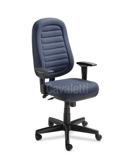 Cadeira para Escritório - Presidente - Giratória - 6001 - Cavaletti