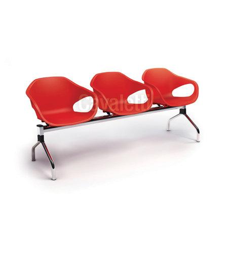 Cadeira para Escritório - Plástica - Longarina - 33110 - Cavaletti