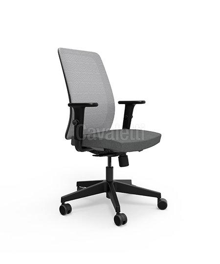 Cadeira para Escritório - Executiva - Giratória - 42101 - Cavaletti