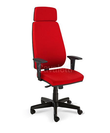 Cadeira para Escritório - Presidente - Giratória - 38001L AC - Cavaletti