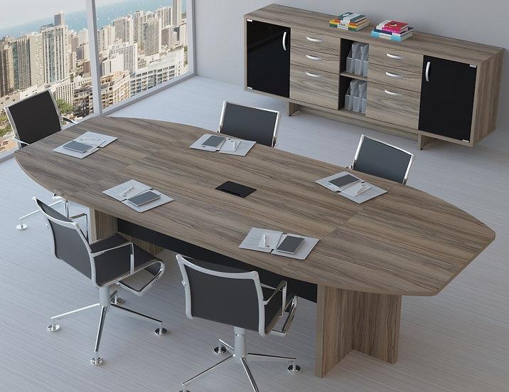 Mesa para Escritório - Reuniões-  Maranello 25mm Linha Up