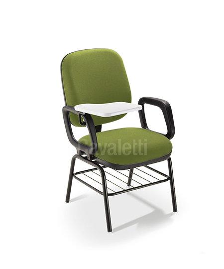 Cadeira para Escritório - Diretor - prancheta escamoteável - 4006 PUE -Cavaletti