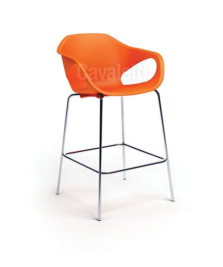 Banqueta para Escritório - Plástica - Fixa - 33120- Cavaletti