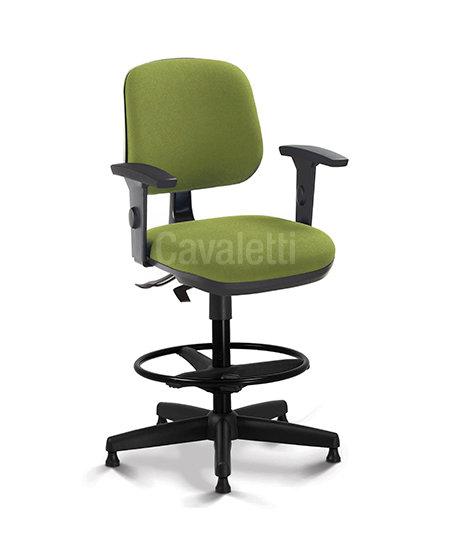 Cadeira para Escritório - Secretária Executiva - Caixa - 4123 - Cavaletti