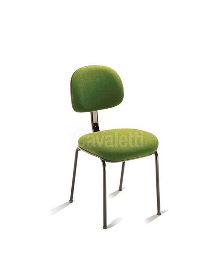 Cadeira para Escritório - Secretária - Fixa - 4008 P - Cavaletti