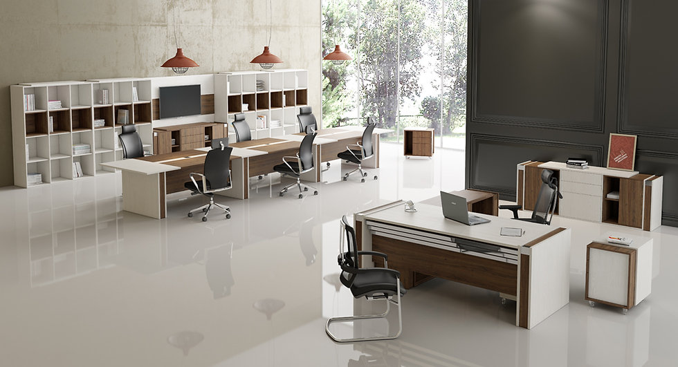 Mesa para Escritório Linha Acta - Avantti 04