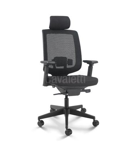 Cadeira para Escritório - Presidente - Giratória - 28001 AC - Cavaletti