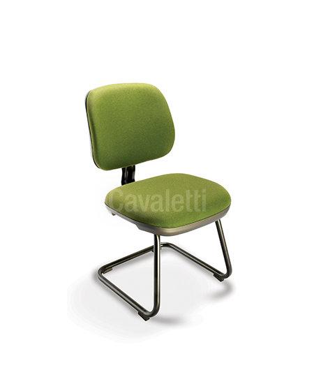 Cadeira para Escritório - Secretária Executiva - Fixa - 4107 S - Cav