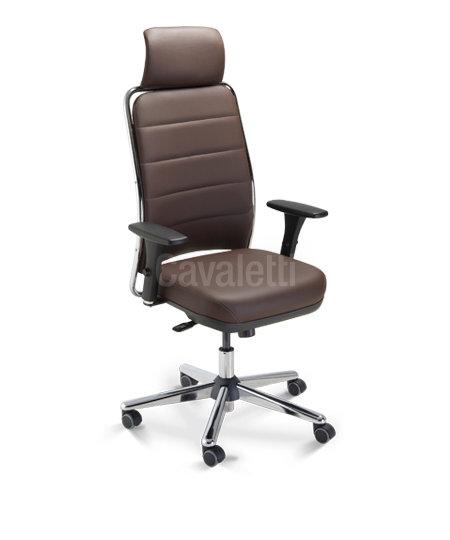Cadeira para Escritório - Presidente - Giratória - 16501 AC   - Cavaletti