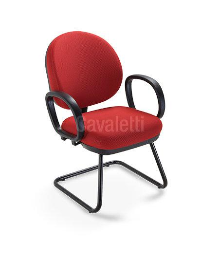 Cadeira para Escritório - Executiva  - Fixa - 8107 S - Cavaletti