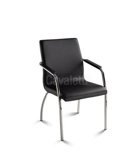 Cadeira para Escritório - Executiva - Fixa- 18006 P - Cavaletti