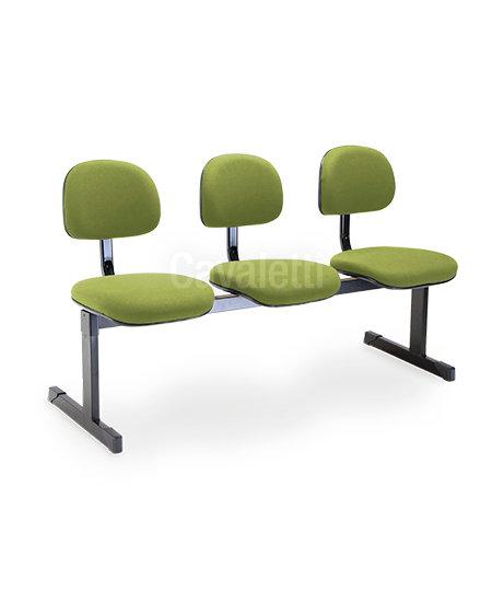 Cadeira para Escritório - Secretária - Longarina - 4009 - Cavaletti