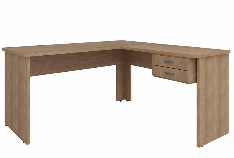 Mesa em L 150 x 140 Incoflex/Movecal