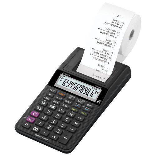Calculadora Com Bobina Hr-8Rc-Bk-B-Dc Casio