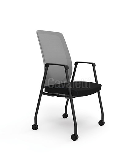 Cadeira para Escritório - Executiva - Fixa - 42106 ROD - Cavaletti