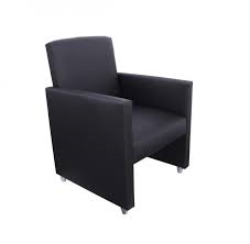 Cadeira para Escritório - Poltrona - Fixa - quadrada -Infoflex