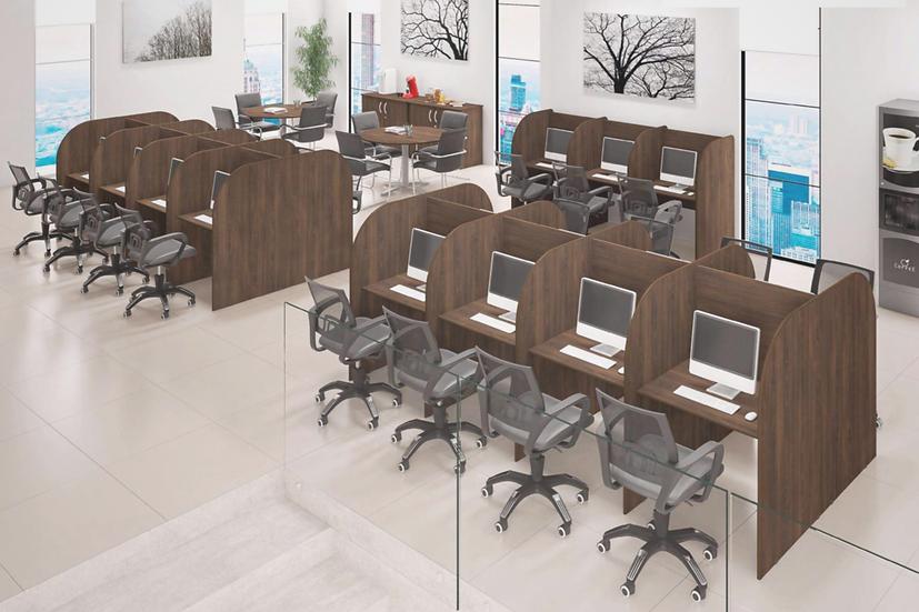 Mesa para Escritório - Call Center - 01