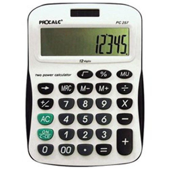 Calculadora Procalc PC-257