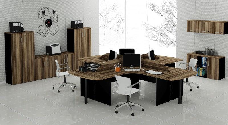 Mesa para Escritório - Estação de Trabalho Avantti 25mm