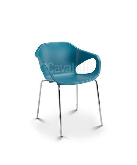 Cadeira para Escritório - Plástica - Fixa - 33106 P- Cavaletti