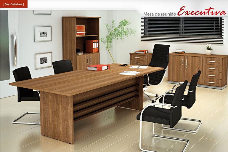 Mesa para Escritório - Reuniões Executiva - Incoflex
