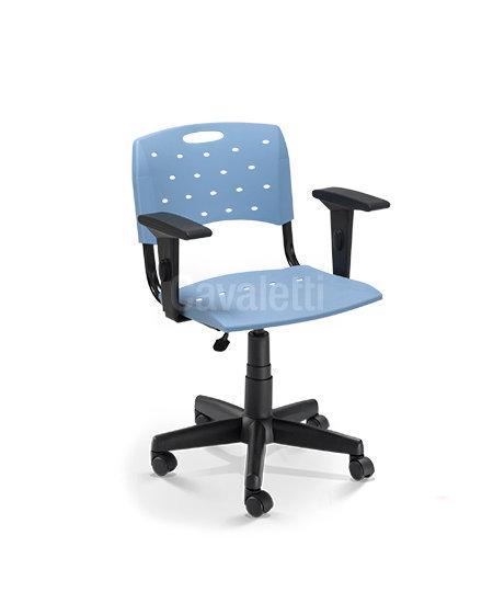 Cadeira para Escritório - Plástica - Giratória - 35004 SL- Cavaletti