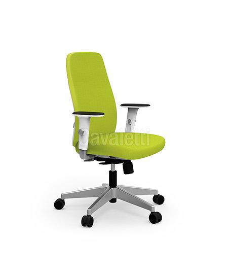 Cadeira para Escritório - Presidente - Giratória- 40101 Soft - Cavaletti