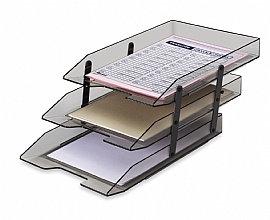 Caixa para correspondência articulada tripla