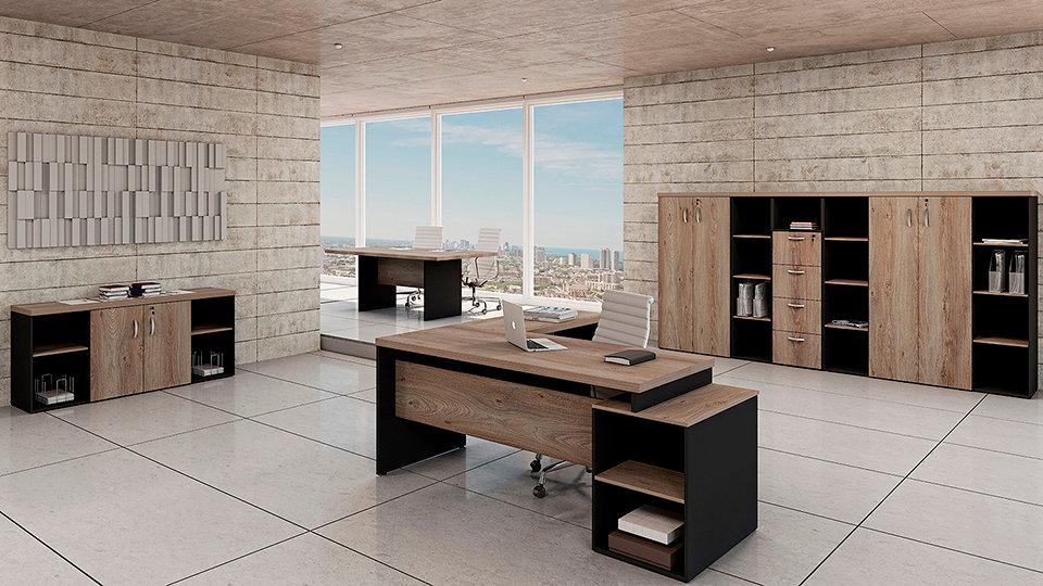 Mesa para Escritório Linha 40mm - Maranello 01 Roma