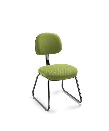 Cadeira para Escritório - Secretária - Fixa - 4008 A - Cavaletti