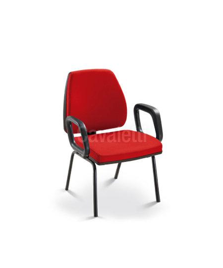 Cadeira para Escritório - Executiva - Fixa- 38007 P - Cavaletti