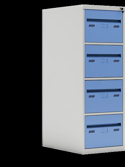 Arquivo de Aço com Gavetas Coloridas