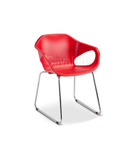 Cadeira para Escritório - Plástica - Fixa - 33107- Cavaletti