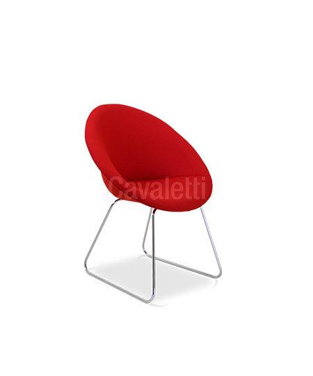 Cadeira para Escritório - Poltrona - Fixa - 36040 - Cavaletti