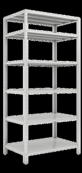 ESTANTE 1980X925X580 – C/ 6 PRAT. 2 REF. CHAPAS 24/18 – 35X35