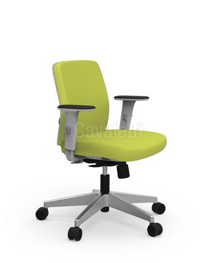 Cadeira para Escritório - Executiva - Giratória- 40102 Soft - Cavaletti