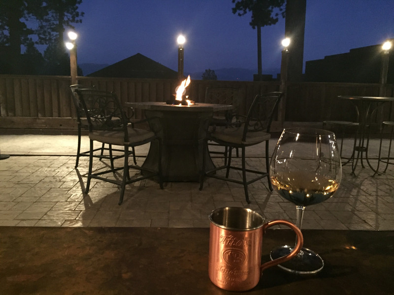 Courtyard Firepit Tables