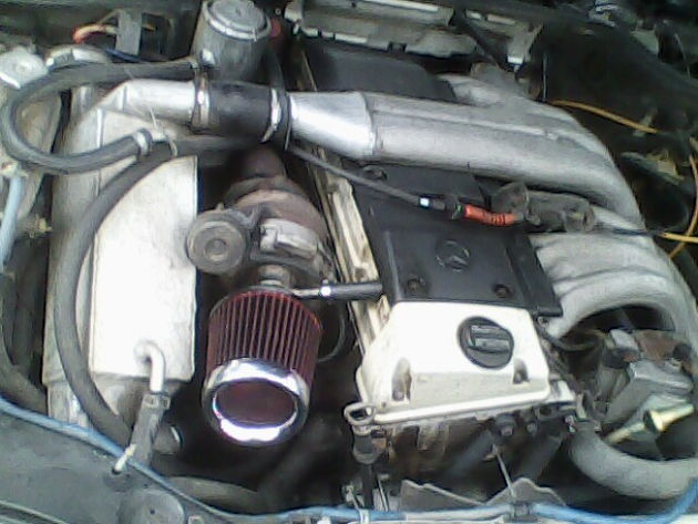 W126 OM606 Turbo  Independent Water Intercooler