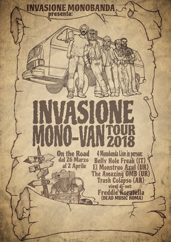INVASIONE MONO-VAN TOUR 2018