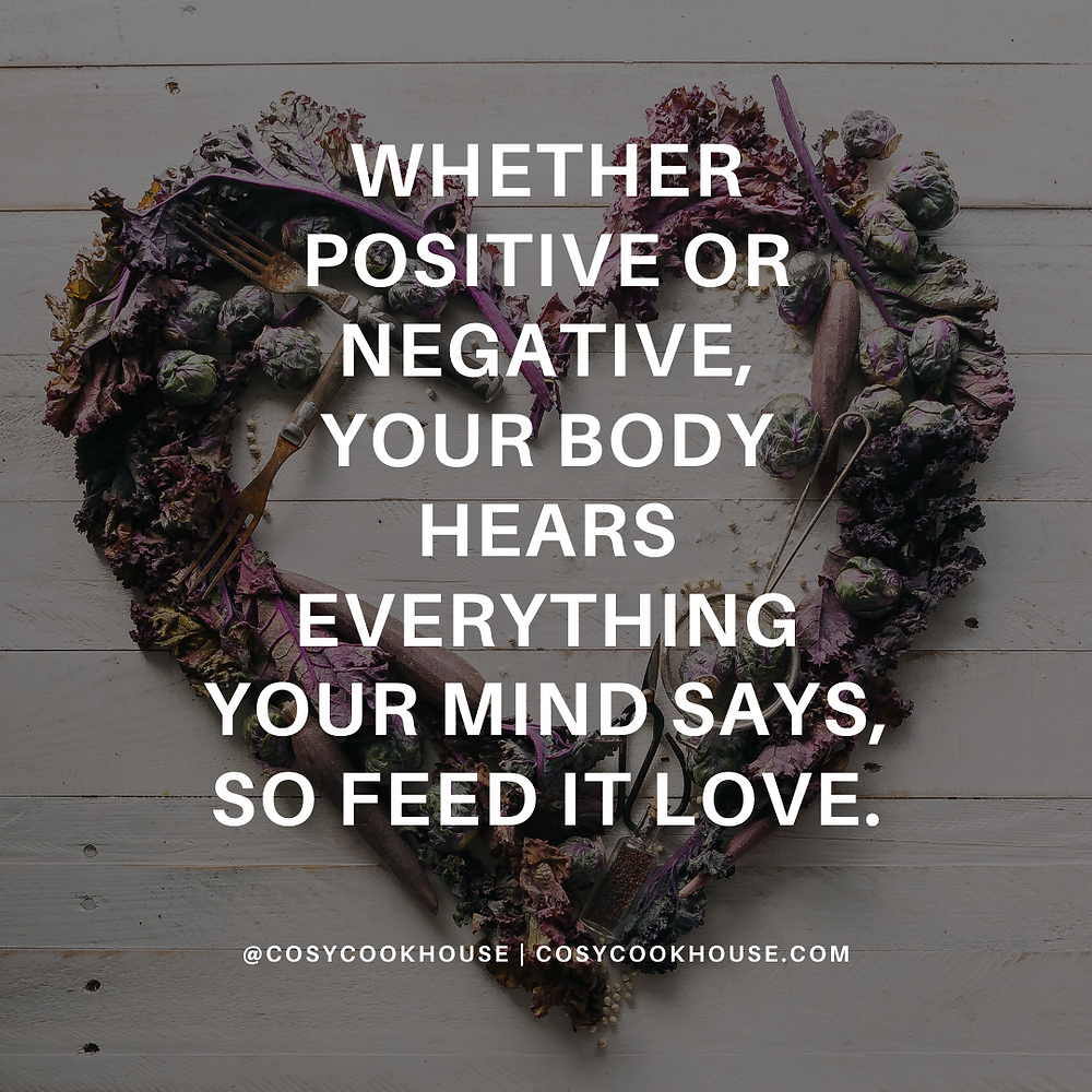 Nourish Yourself With Love And Positivity