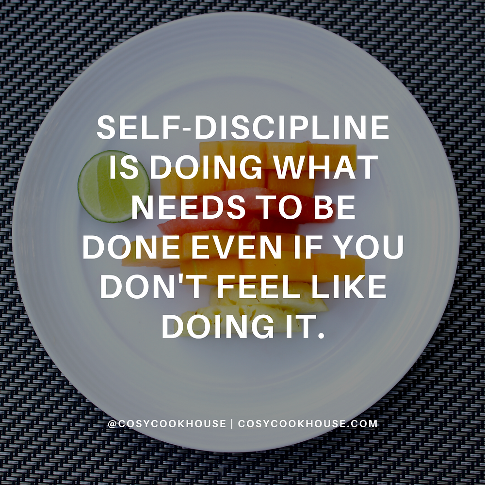 Self-Discipline Is The Key To Success