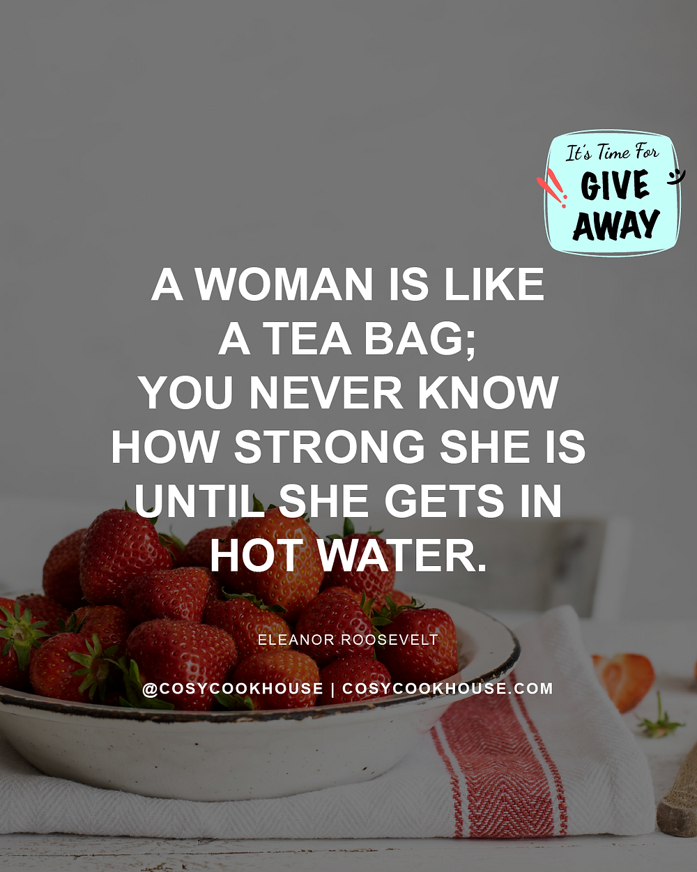 International Women's Day Giveaway And New Product Launch