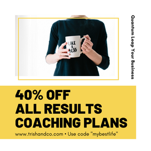 Take Your Business To The Next Level - Avail Our 40% Off For All Coaching Plans